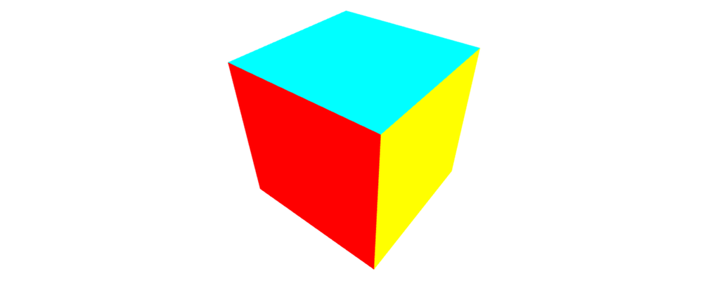 A still rendering of a cube.